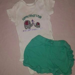 Other - Babys Happy Father's day Outfit